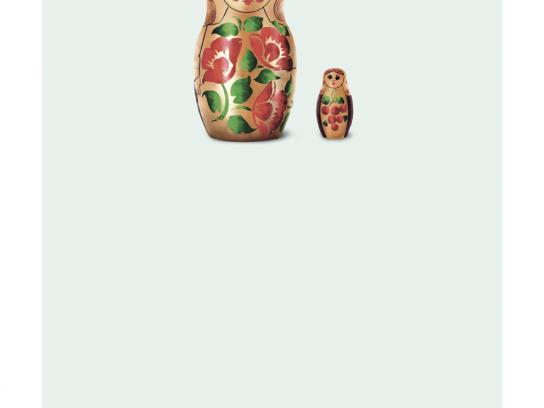 Shamiana Short Film Festival Print Ad -  Russian dolls