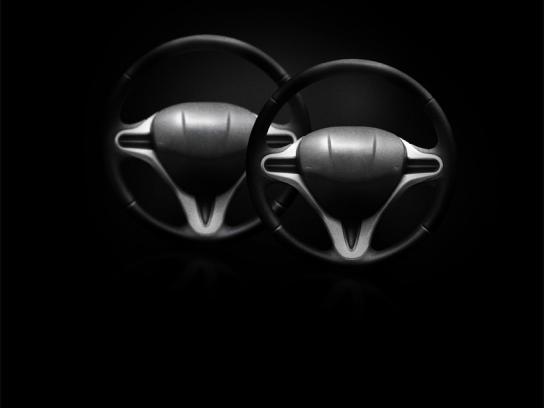 Shangri La Lingerie Print Ad -  Steering wheels