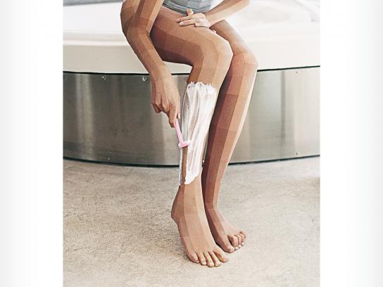 Parissa Print Ad -  Shave