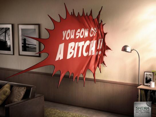 Shera Print Ad -  Living Room