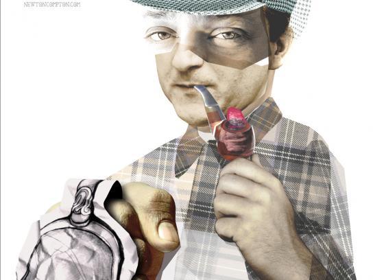 Newton Compton Print Ad -  Sherlock
