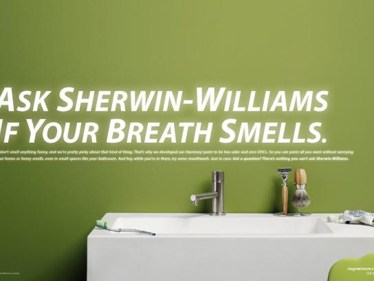 Sherwin-Williams Print Ad -  Green