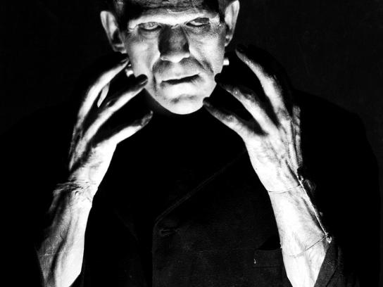 Shinola Print Ad -  Frankenstein
