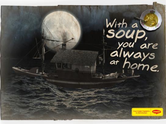 Maggi Print Ad -  Ship house