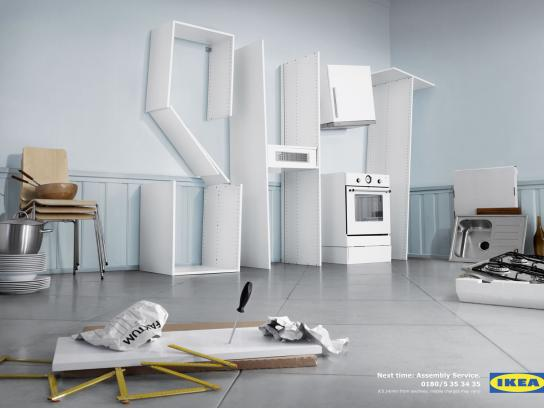 IKEA Print Ad -  Kitchen Shit