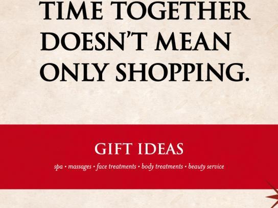 Gaudia Wellness Print Ad -  Shopping