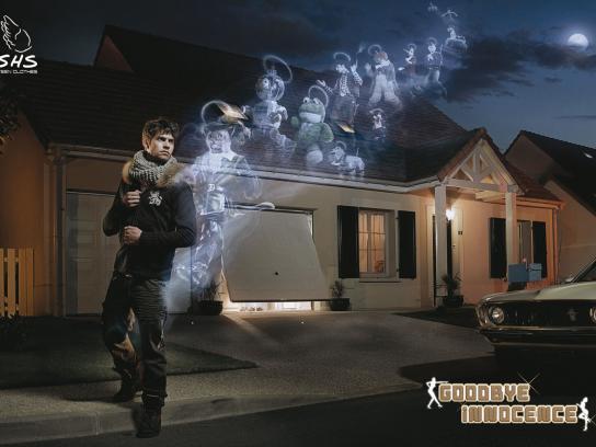 SHS Print Ad -  Goodbye Innocence, Guy
