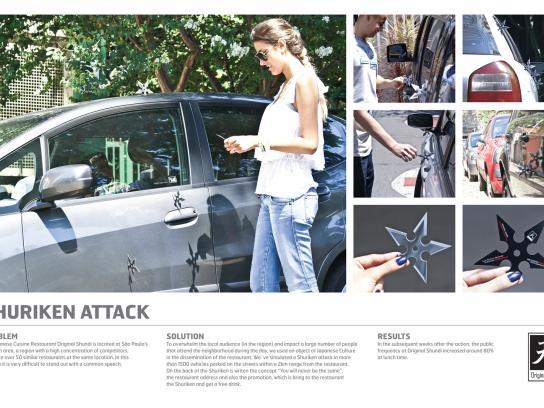 Original Shundi Ambient Ad -  Shuriken Attack
