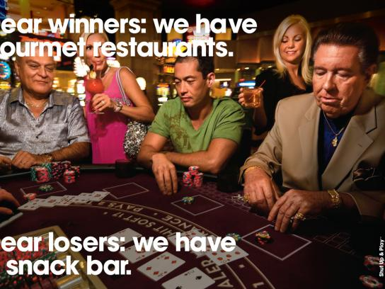 New York-New York Hotel & Casino Print Ad -  Poker