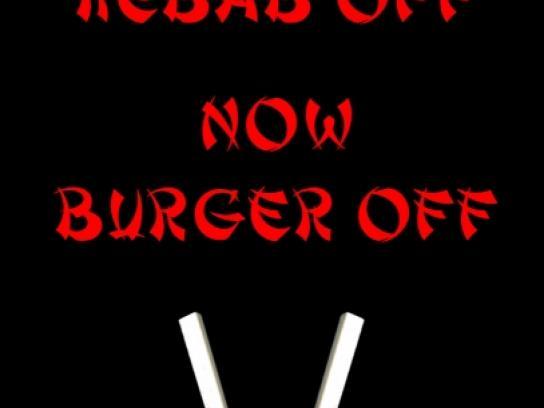 Siam Sam's Print Ad -  Burger