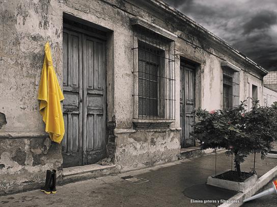 Sika Print Ad -  Raincoat