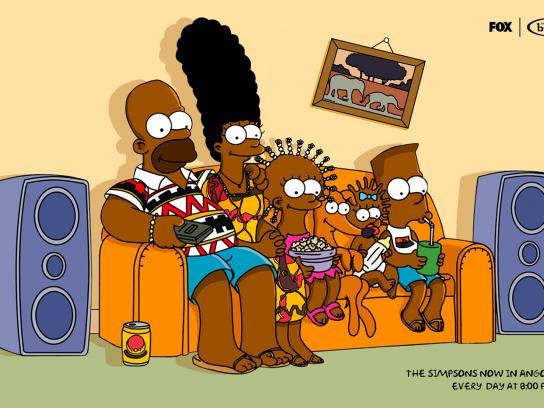 DStv Print Ad -  Simpsons