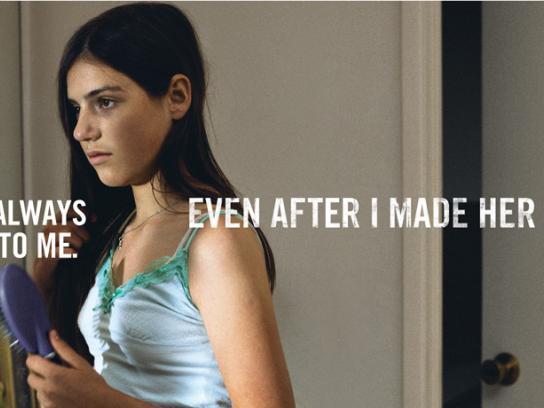 Montana Meth Project Print Ad -  Sister