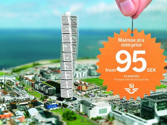 SJ Outdoor Ad -  Miniprice, Malmoe
