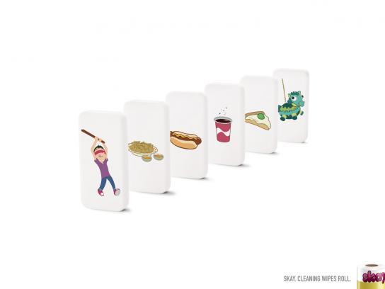 Skay Print Ad -  Piñata