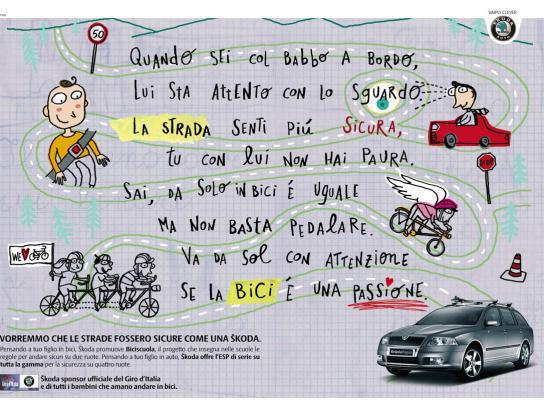 Skoda Print Ad -  Daddy