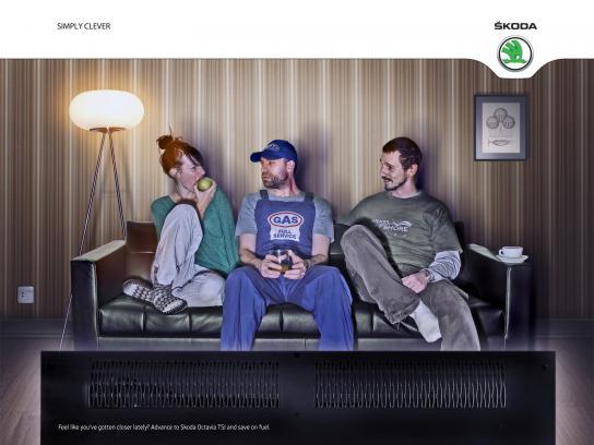 Skoda Print Ad -  Closer