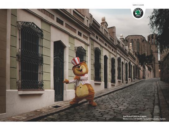 Skoda Print Ad -  Mascot