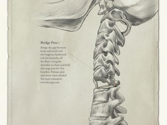 Kryoga Print Ad -  Cervical