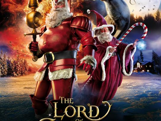 SKY Print Ad -  The Lord of Christmas