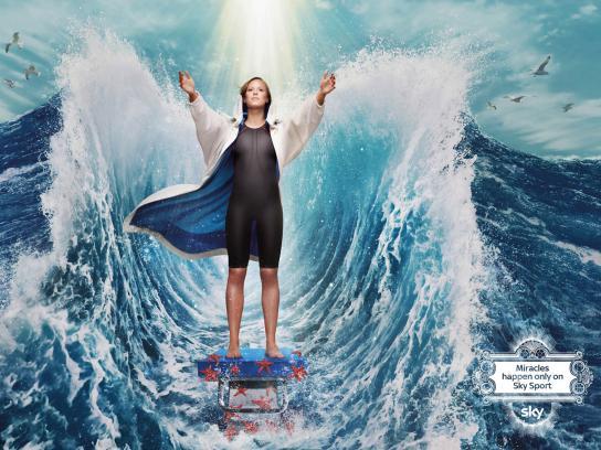 SKY Print Ad -  Miracles, Pellegrini
