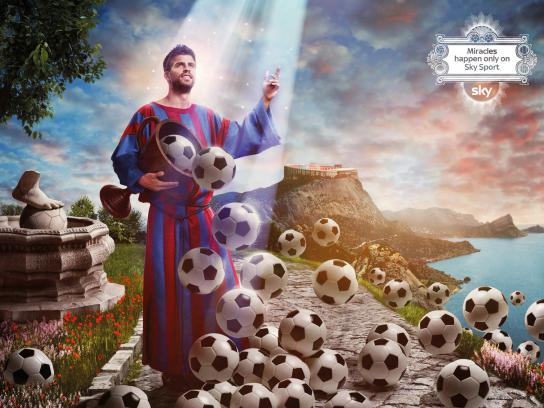 SKY Print Ad -  Miracles, Pique