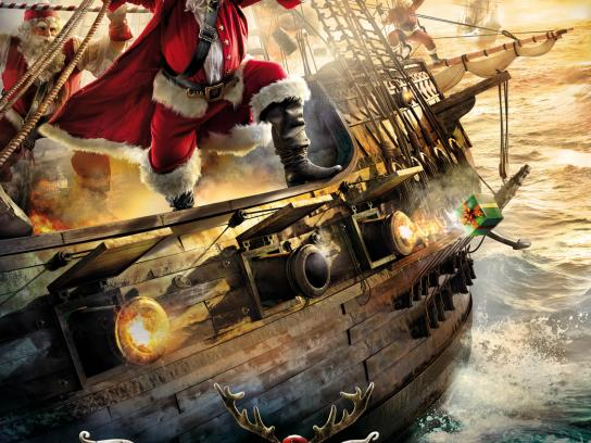 SKY Print Ad -  Pirates of Christmas