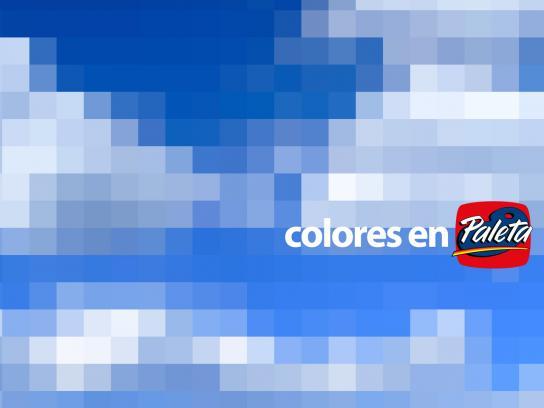 Paleta Print Ad -  Sky blue