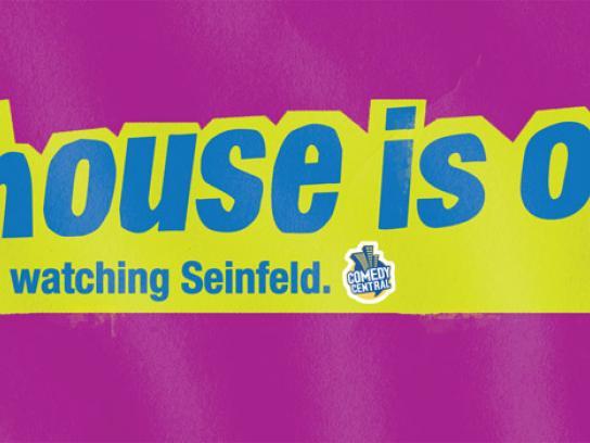 SKY Outdoor Ad -  Seinfeld