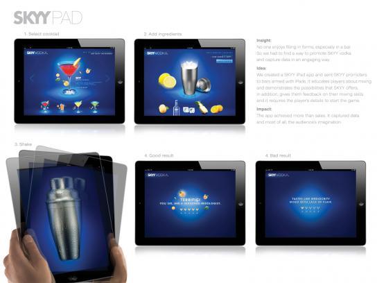 SKYY Digital Ad -  SKYYPAD