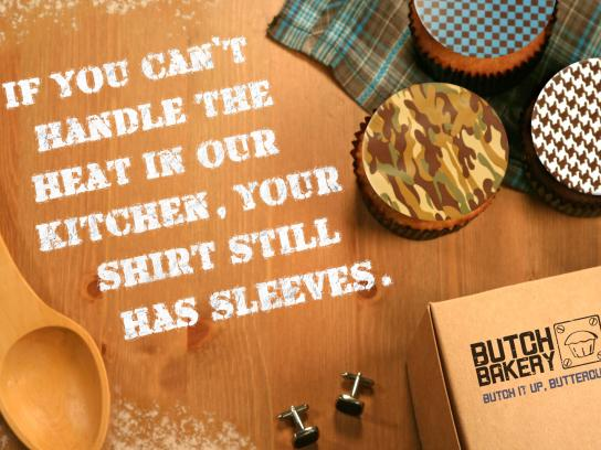 Butch Print Ad -  Sleeves