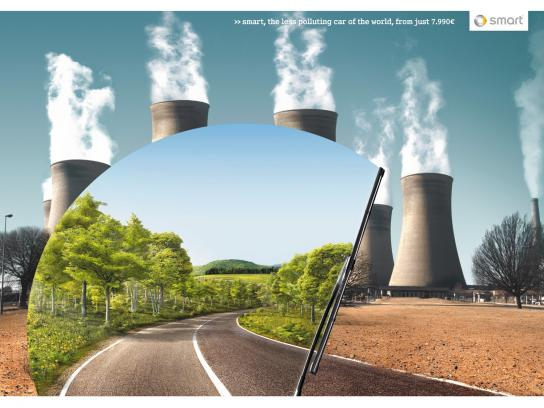Smart Print Ad -  Pollution, 1