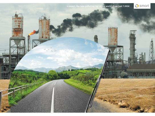 Smart Print Ad -  Pollution, 2
