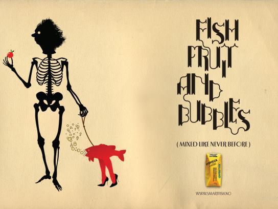 Smartfish Print Ad -  Bubbles