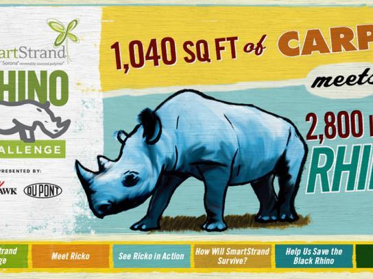 Mohawk Digital Ad -  The SmartStrand Rhino Challenge