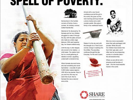 Share Microfinance Print Ad -  Chili