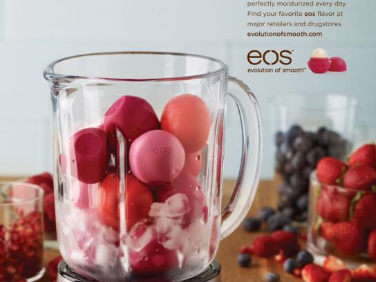 EOS Lip Balm Print Ad -  Smoothie
