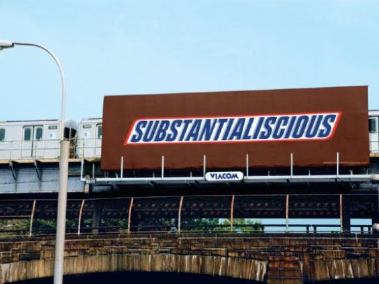 Snickers Print Ad -  Substantialiscious