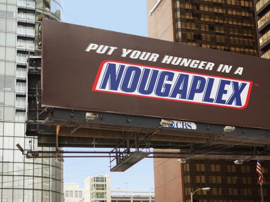 Snickers Outdoor Ad -  Nougaplex