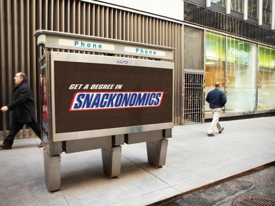 Snickers Outdoor Ad -  Snackonomics
