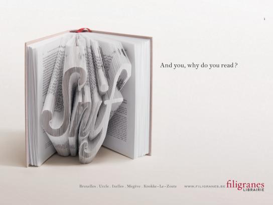 Filigranes Print Ad -  Snif