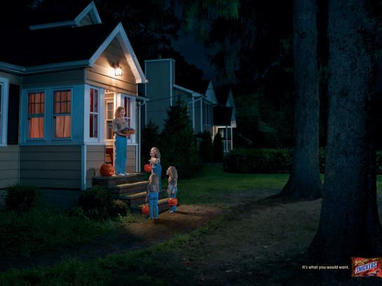 Snickers Print Ad -  Mrs Whithers