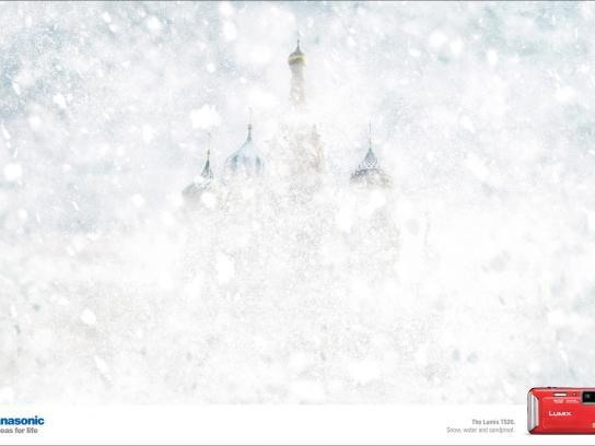 Panasonic Print Ad -  Weather, Snow