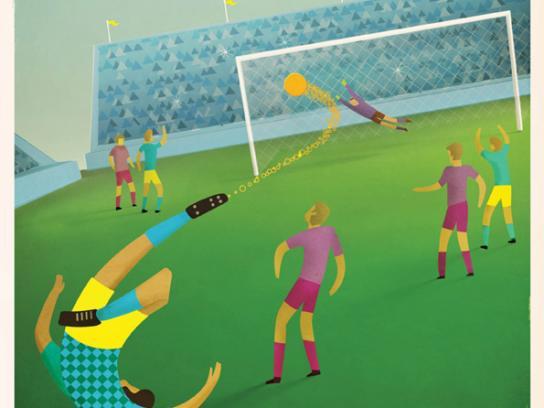 Berocca Print Ad -  Soccer