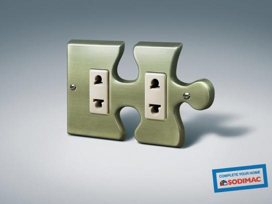 Sodimac Print Ad -  Puzzle piece, 3
