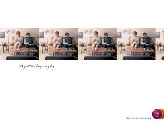 Nestle Print Ad -  Sofa
