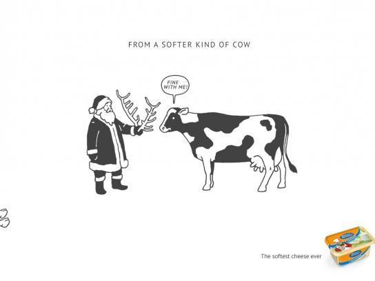 Vimm-Bill-Dann Print Ad -  Santa