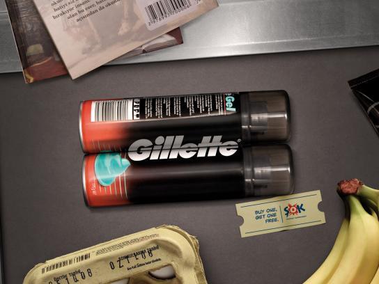 SOK Print Ad -  Gillette