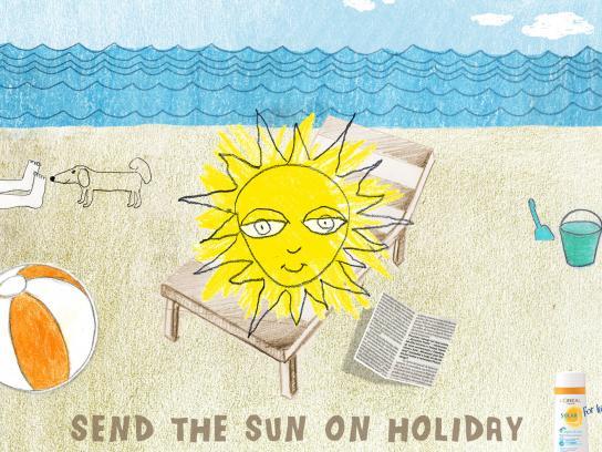 Solar Print Ad -  Beach