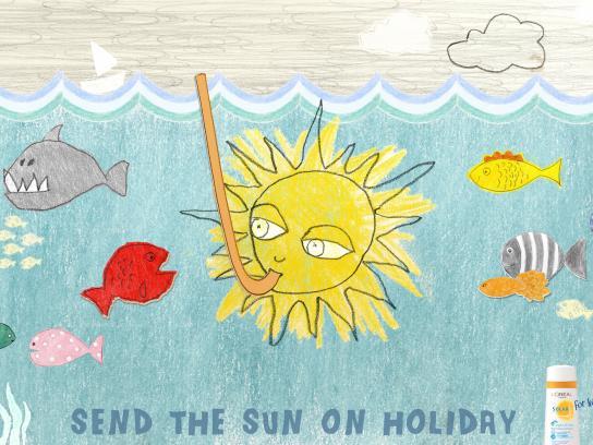 Solar Print Ad -  Sea